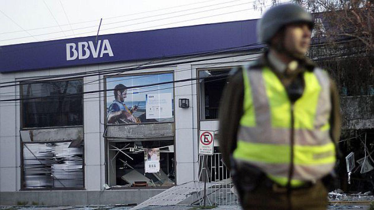 Robo a cajeros automáticos con explosiones suben de 12 a 210 en el último año