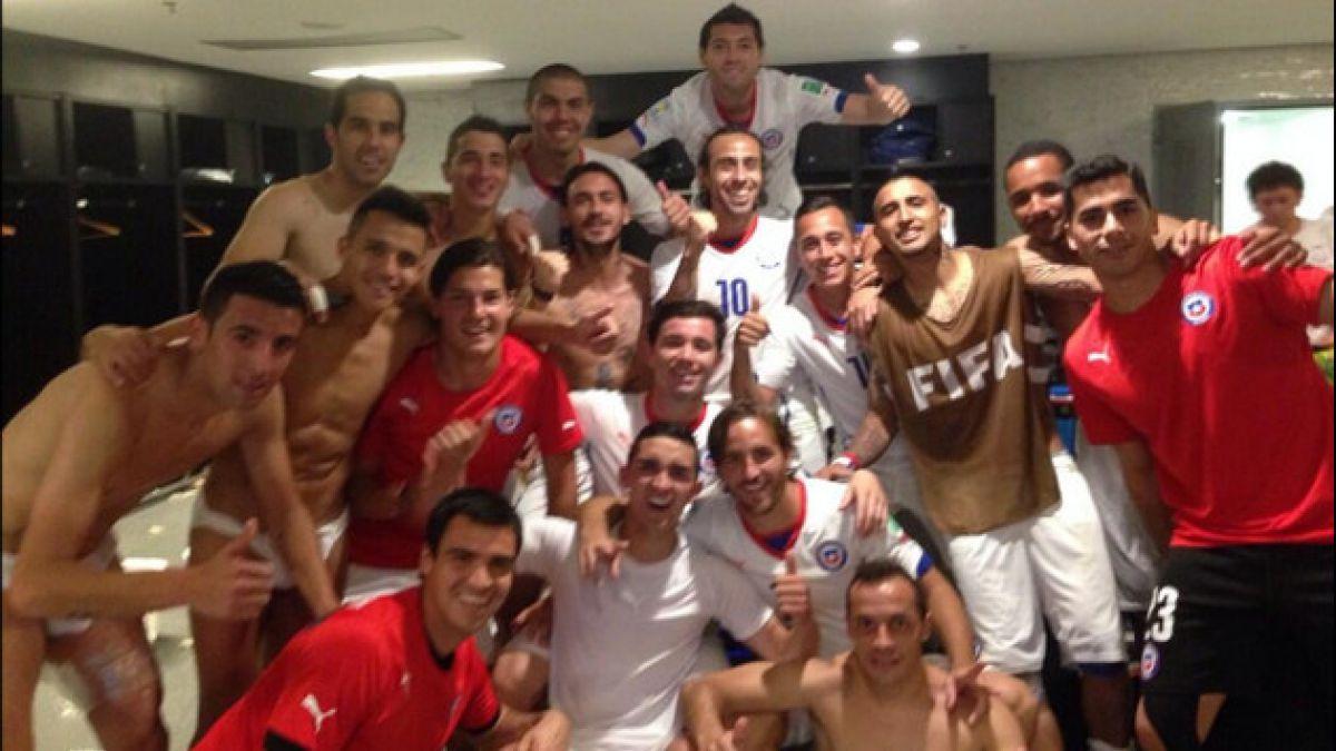 Las mejores fotos tuiteadas por los jugadores de la Roja en este Mundial