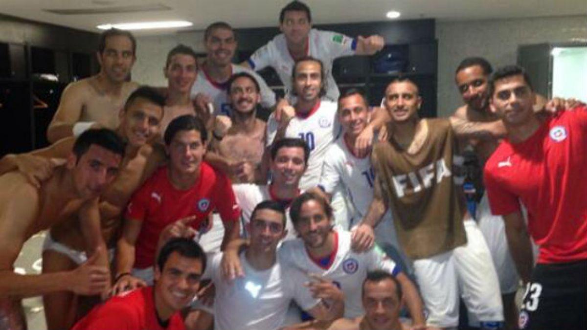 [Fotos] Así celebraron en Twitter los jugadores de la Selección