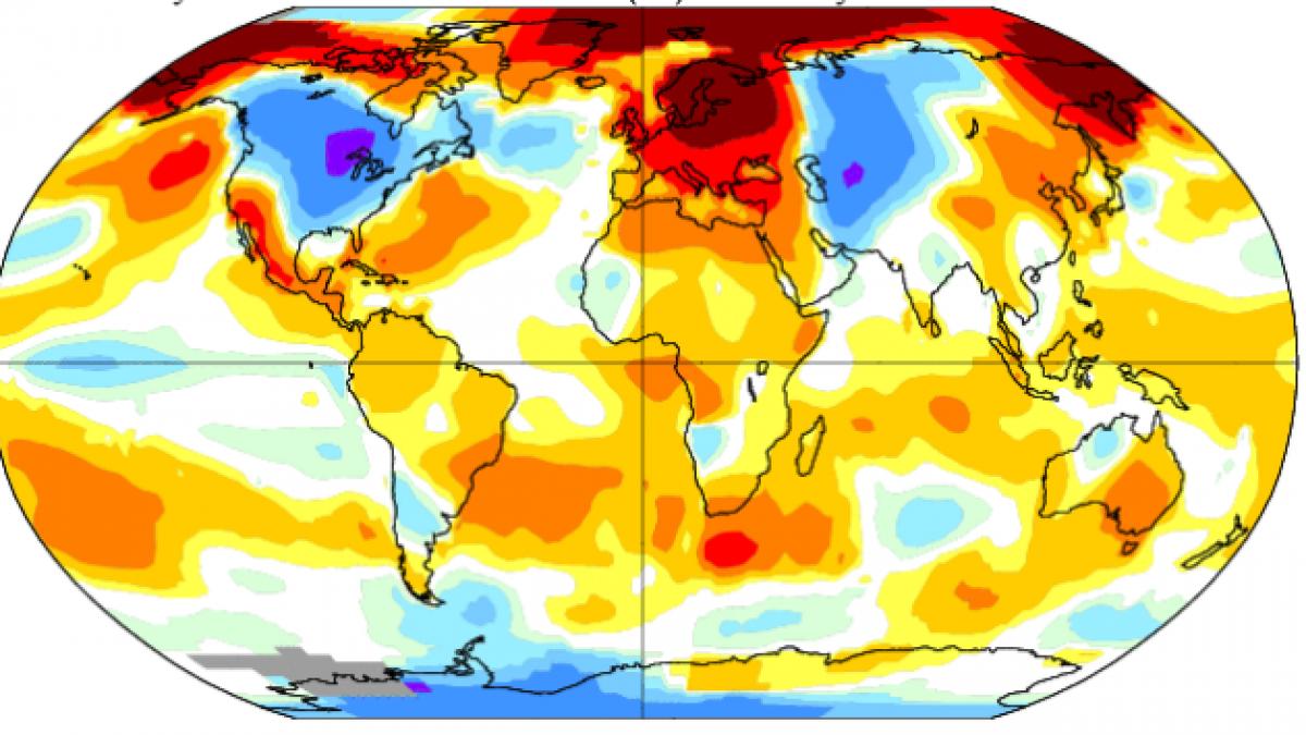 ¿Será el 2014 el año más cálido desde que se tiene registro?