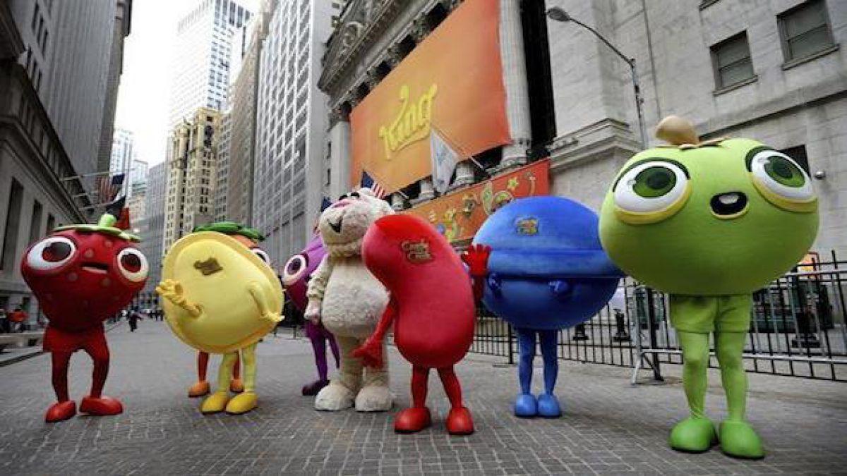 Acciones de desarrollador de Candy Crush retroceden en su debut en la bolsa