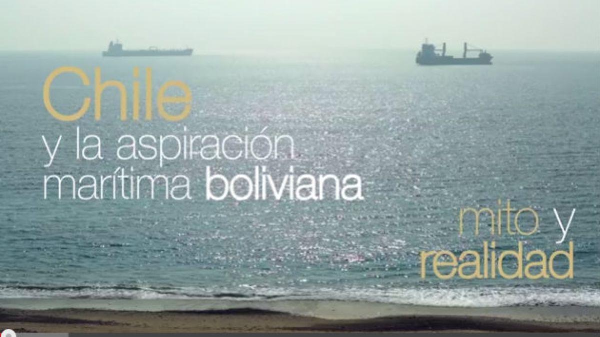 [VIDEO] Gobierno y ex presidentes responden a aspiración marítima boliviana