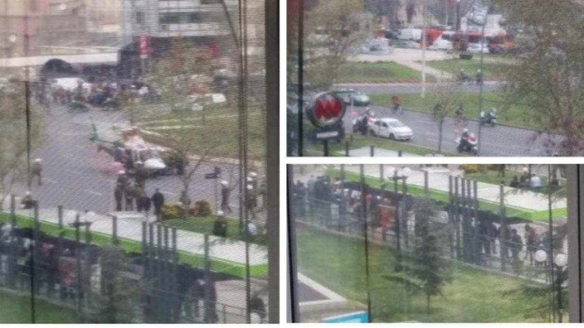 Muere carabinero accidentado en Plaza Baquedano tras sufrir paro cardíaco