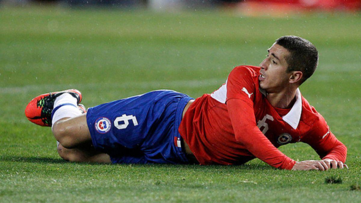 Carlos Carmona queda liberado para partidos amistosos de Chile
