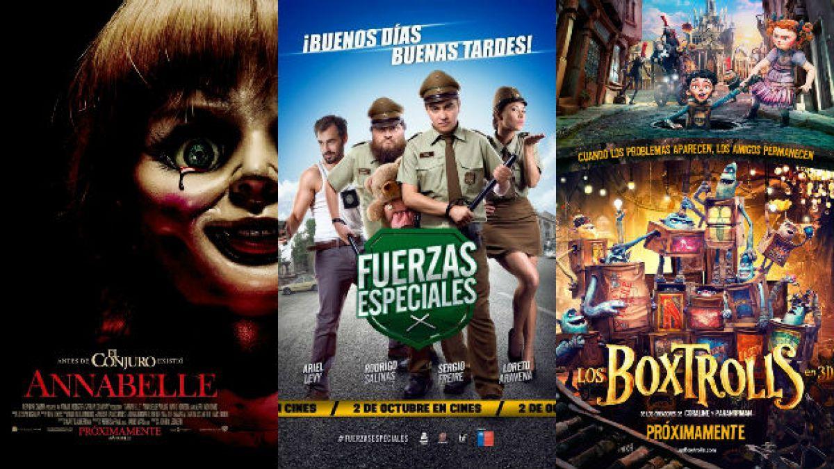Cartelera: Las películas que se estrenan este 02 de octubre