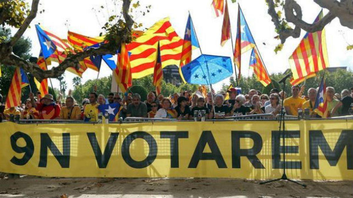 Parlamento catalán aprueba ley que permite consulta sobre independencia de Cataluña