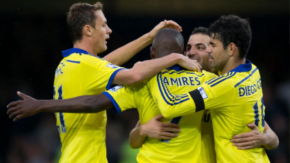 El Chelsea golea a un amenazante Everton con doblete de Diego Costa