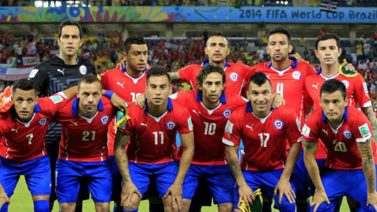 Chile formará con los mismos jugadores que derrotaron a Australia
