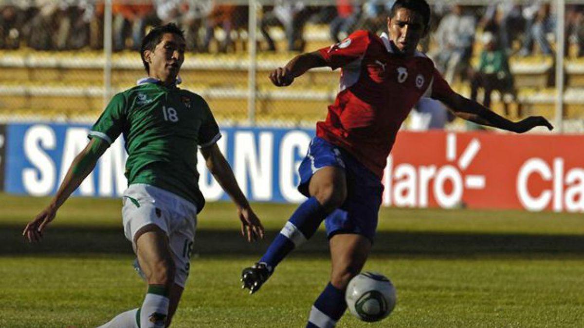 Chile venció por 2-0 a Bolivia