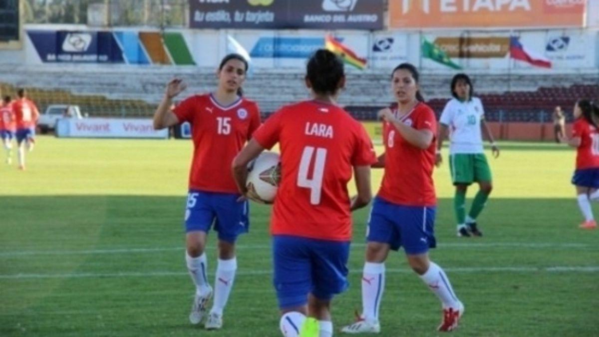 Chile venció a Bolivia y lidera el grupo B de la Copa América femenina