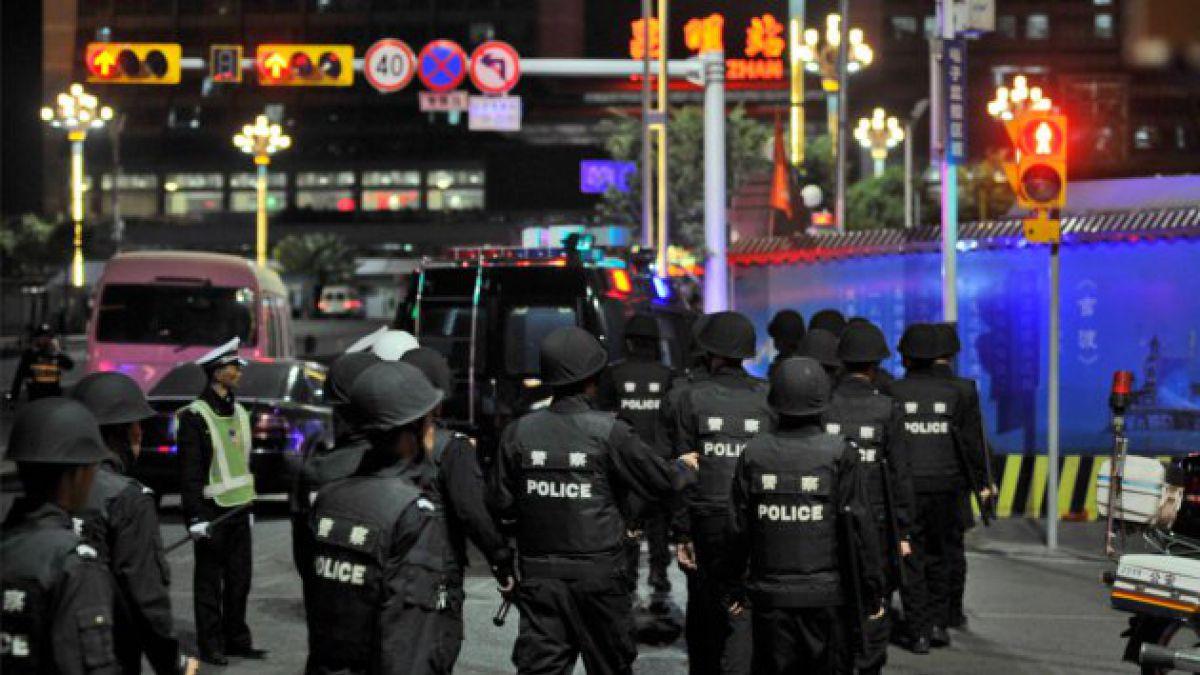 29 muertos deja ataque a una estación de trenes en China