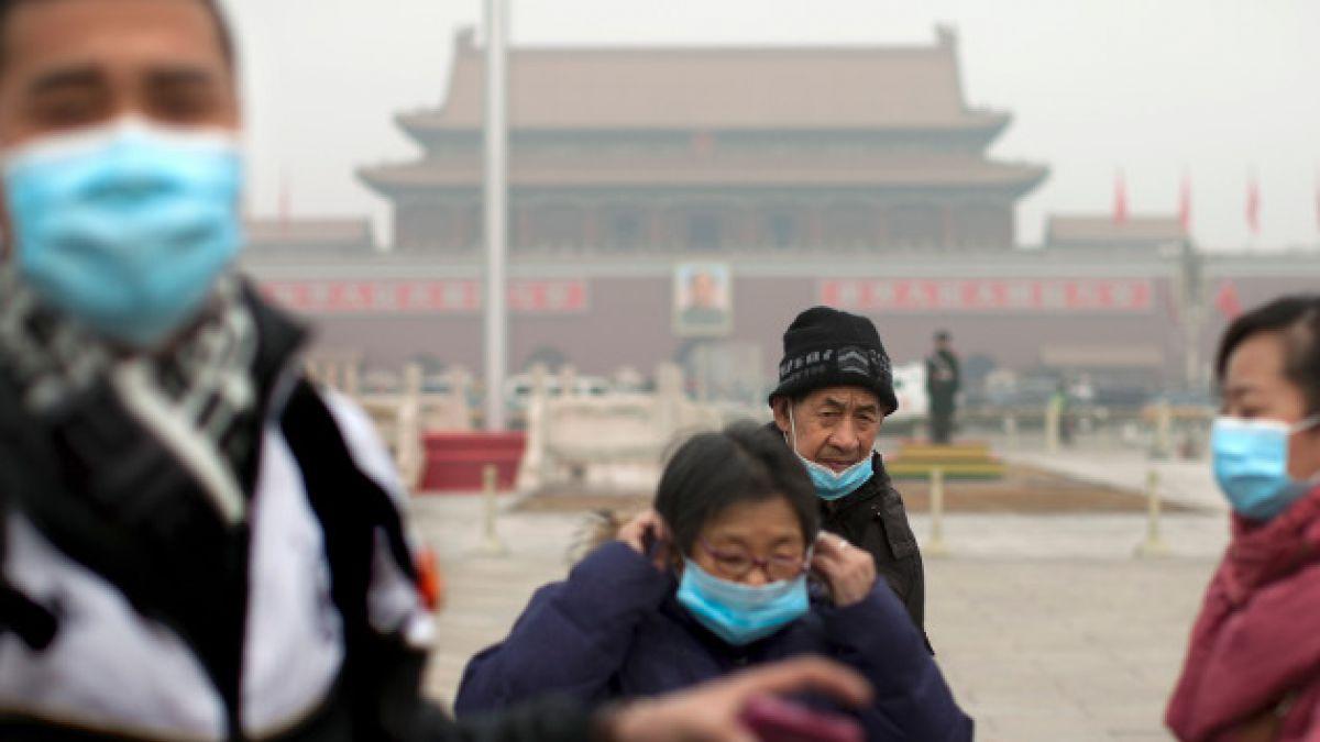 China utiliza drones para combatir la contaminación