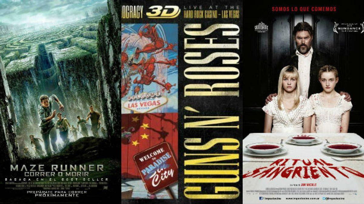 Cartelera: Las películas que se estrenan este 25 de septiembre