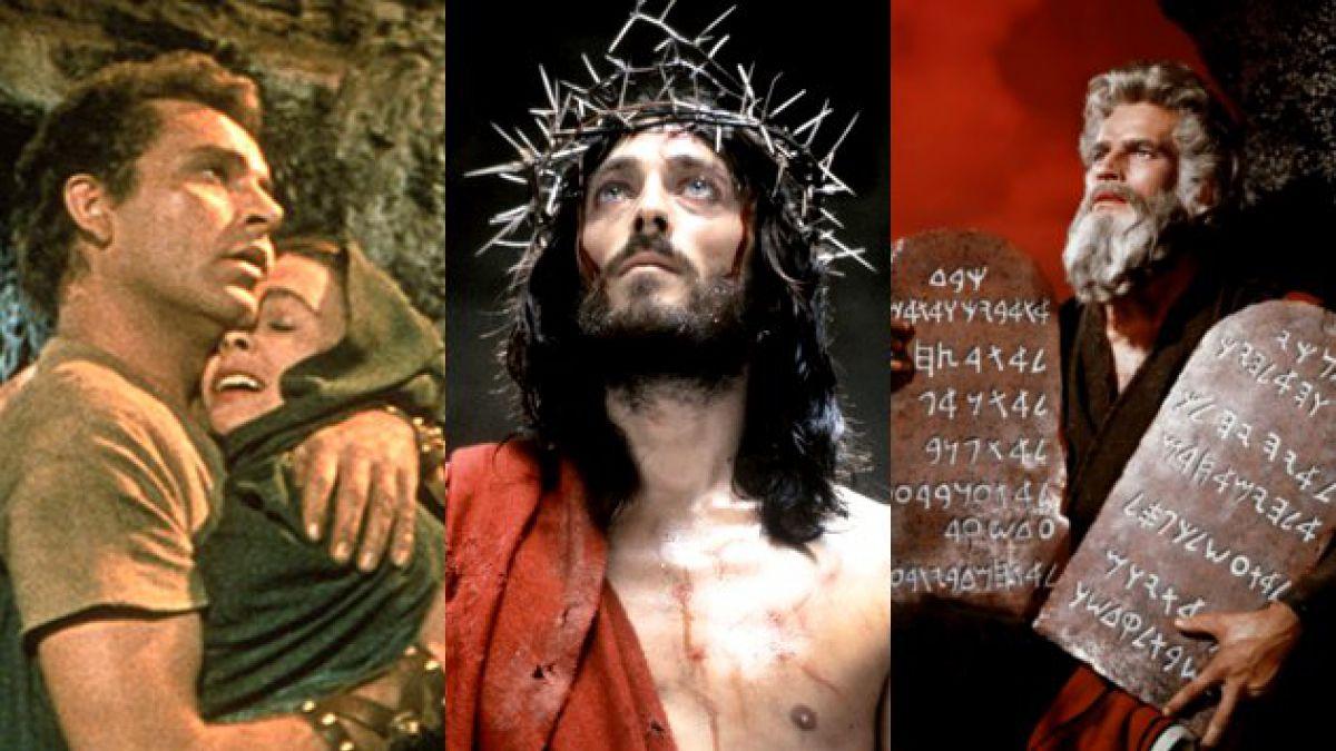 Los clásicos imperdibles del cine para Semana Santa