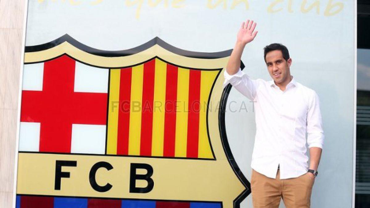 [VIDEO] La llegada de Claudio Bravo a Barcelona