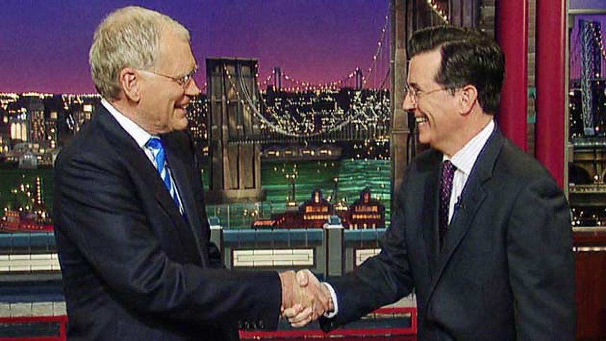 Stephen Colbert toma el puesto de Letterman en el Late Show