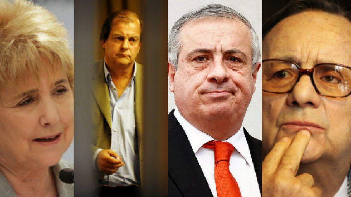 De Zilic a Saball: Estos son los diez ministros interpelados desde el retorno a la democracia