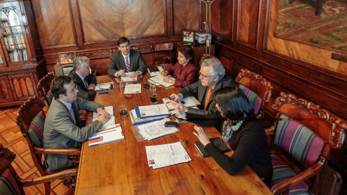 Ministros del área económica revisaron avances del Plan de Reforzamiento de la Inversión 2014
