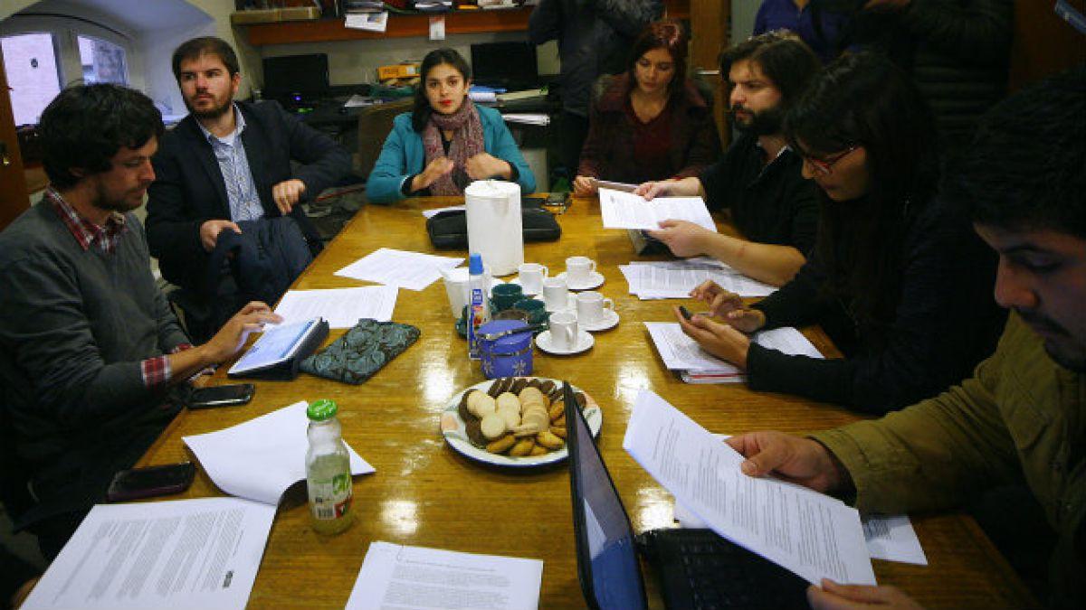 Confech y cita con bancada estudiantil: En ningún caso es la gran reforma de los últimos 50 años