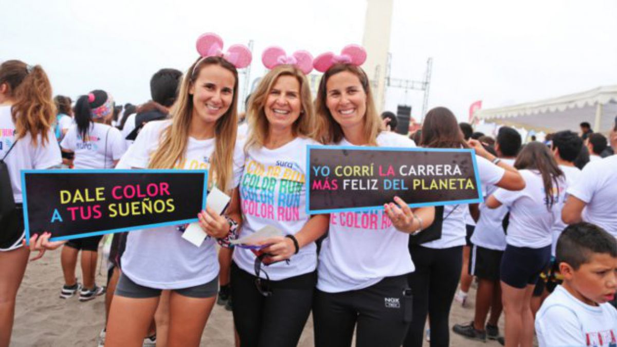 The Color Run La Serena reunió a más  4 mil personas