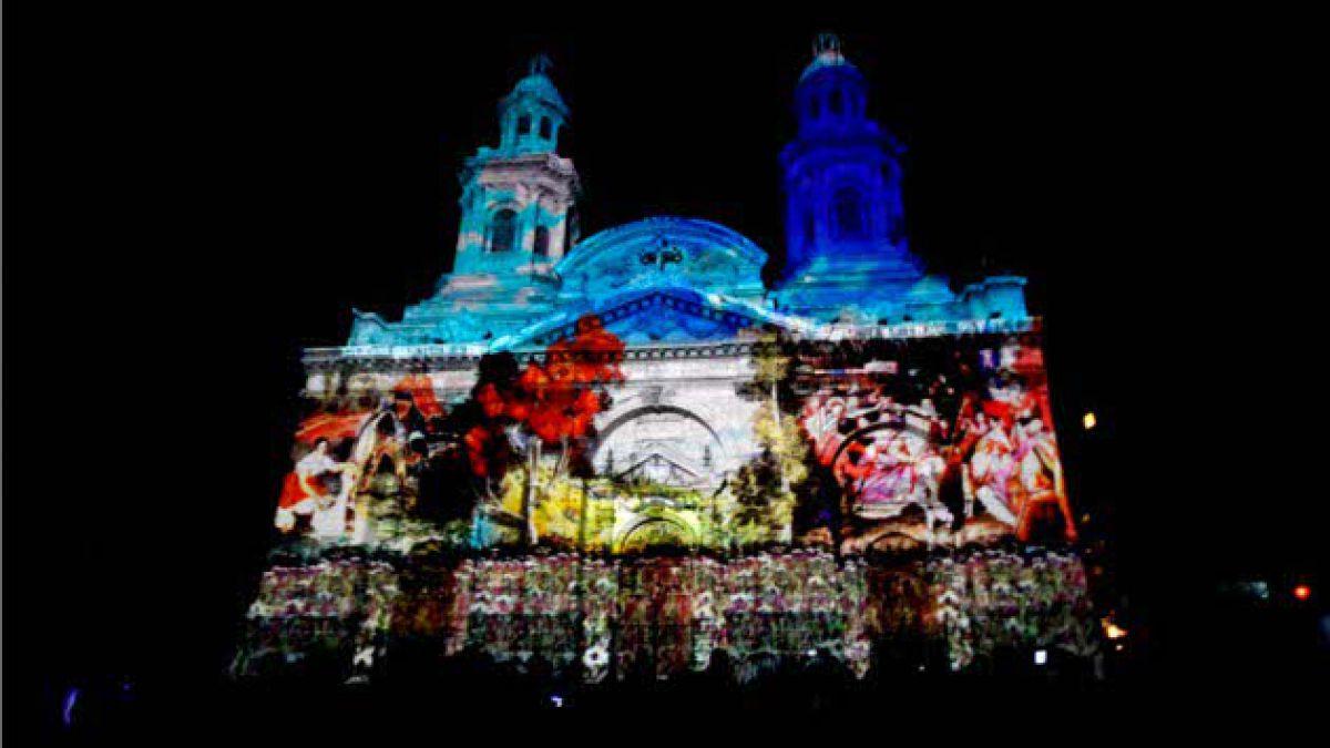 Colores iluminaron Catedral Metropolitana