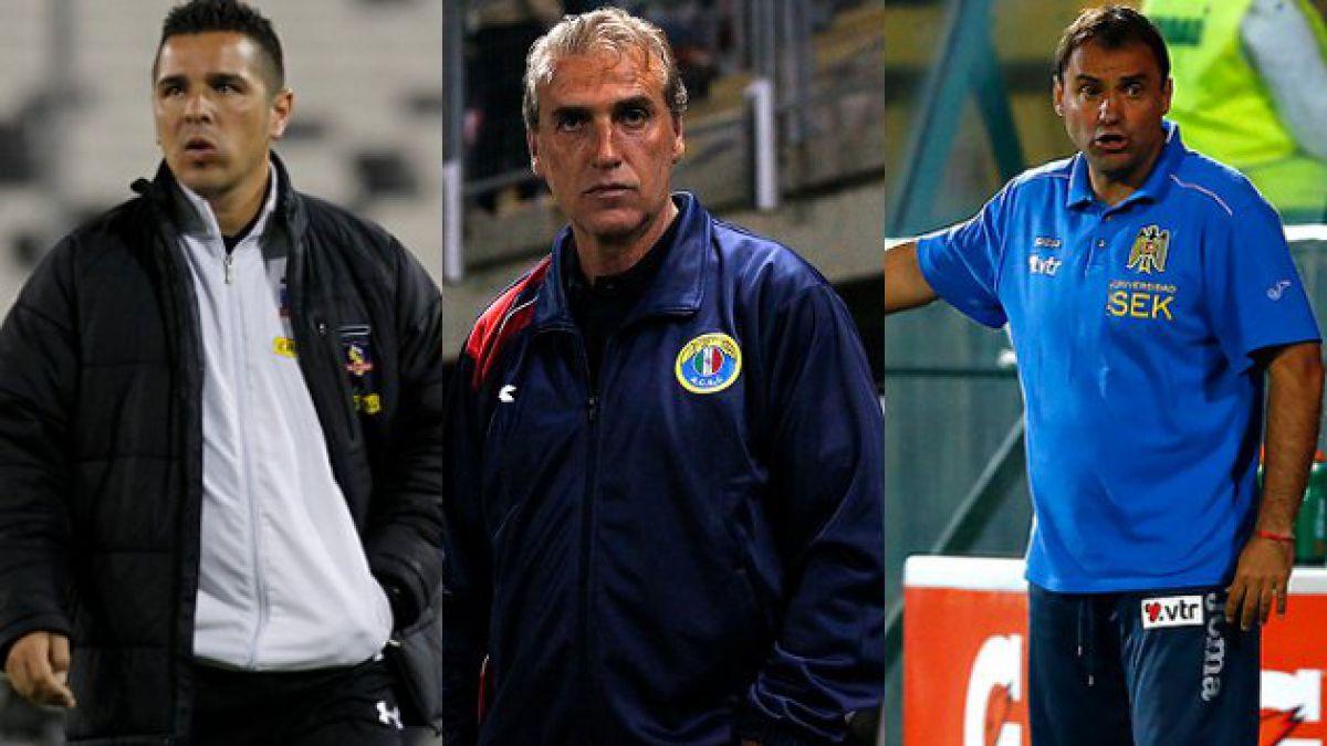 De dónde son los técnicos que dirigen en el fútbol chileno