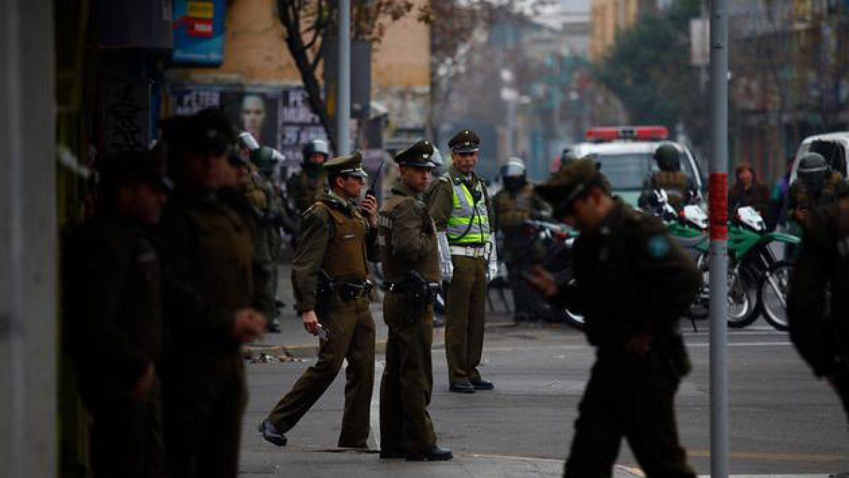 [Pinochet] 500 efectivos resguardan acto en Caupolicán