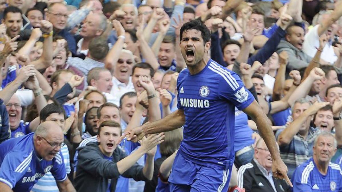 Chelsea vence 2-0 al Leicester con un nuevo gol de Diego Costa