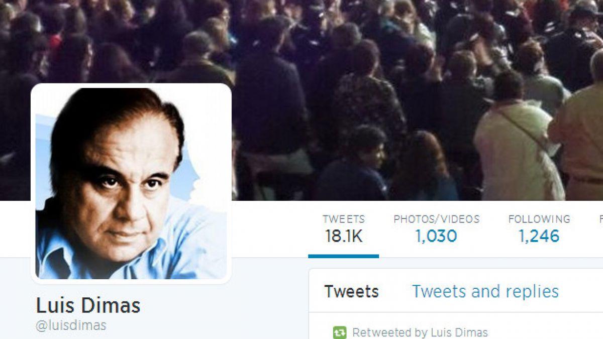 Luis Dimas reacciona con rabia por Twitter tras derrota ante Holanda
