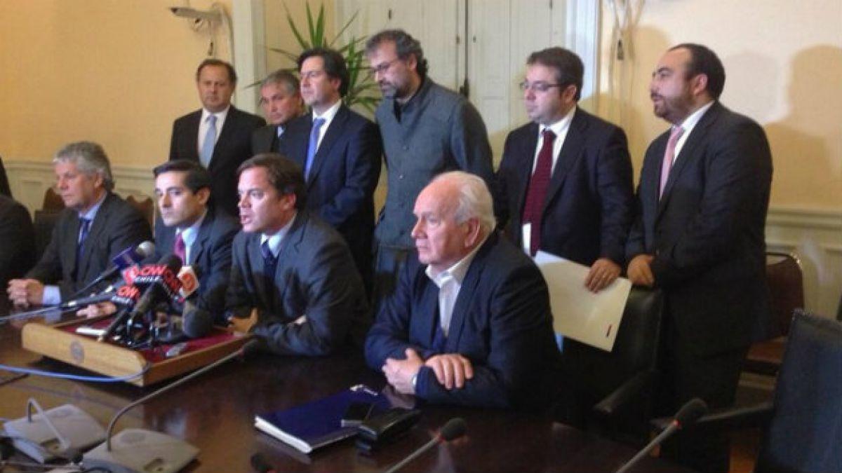 Diputados DC destacan disposición de Eyzaguirre para perfeccionar proyectos de reforma educacional