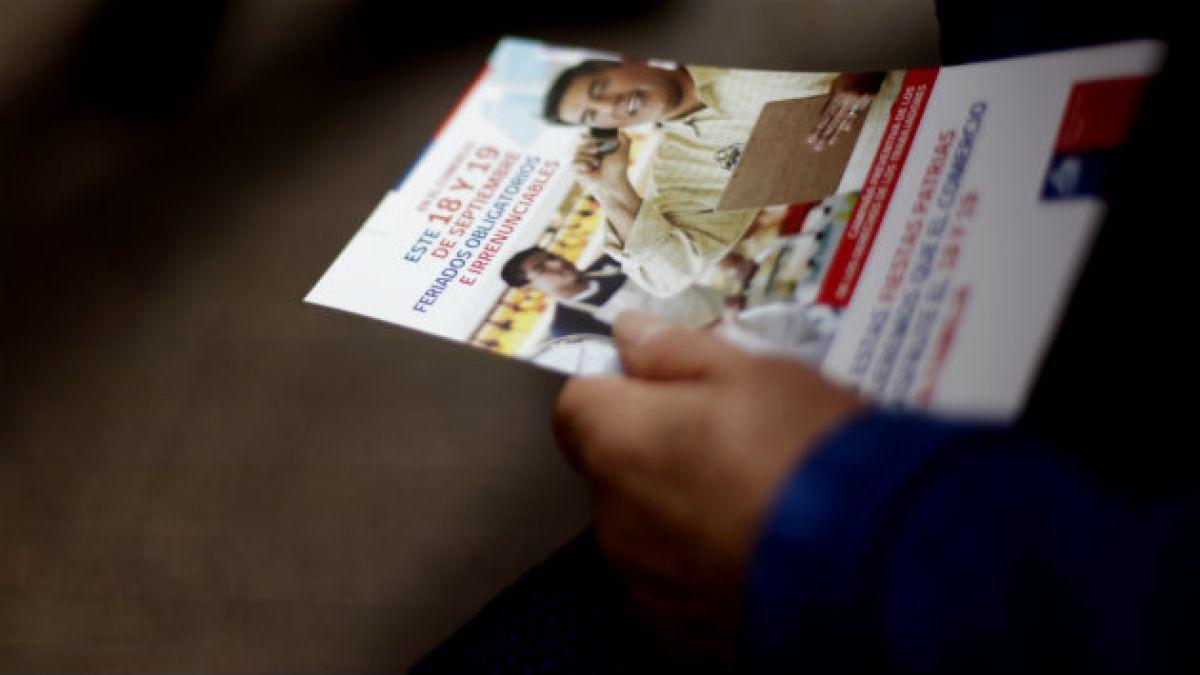 Dirección del Trabajo anuncia fiscalizaciones por feriados irrenunciables de Fiestas Patrias
