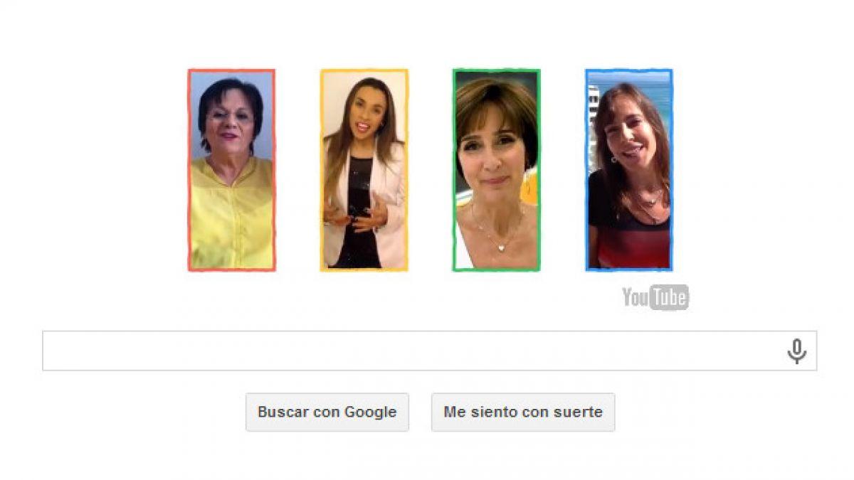 Doodle de Google rinde homenaje a mujeres de todo el mundo