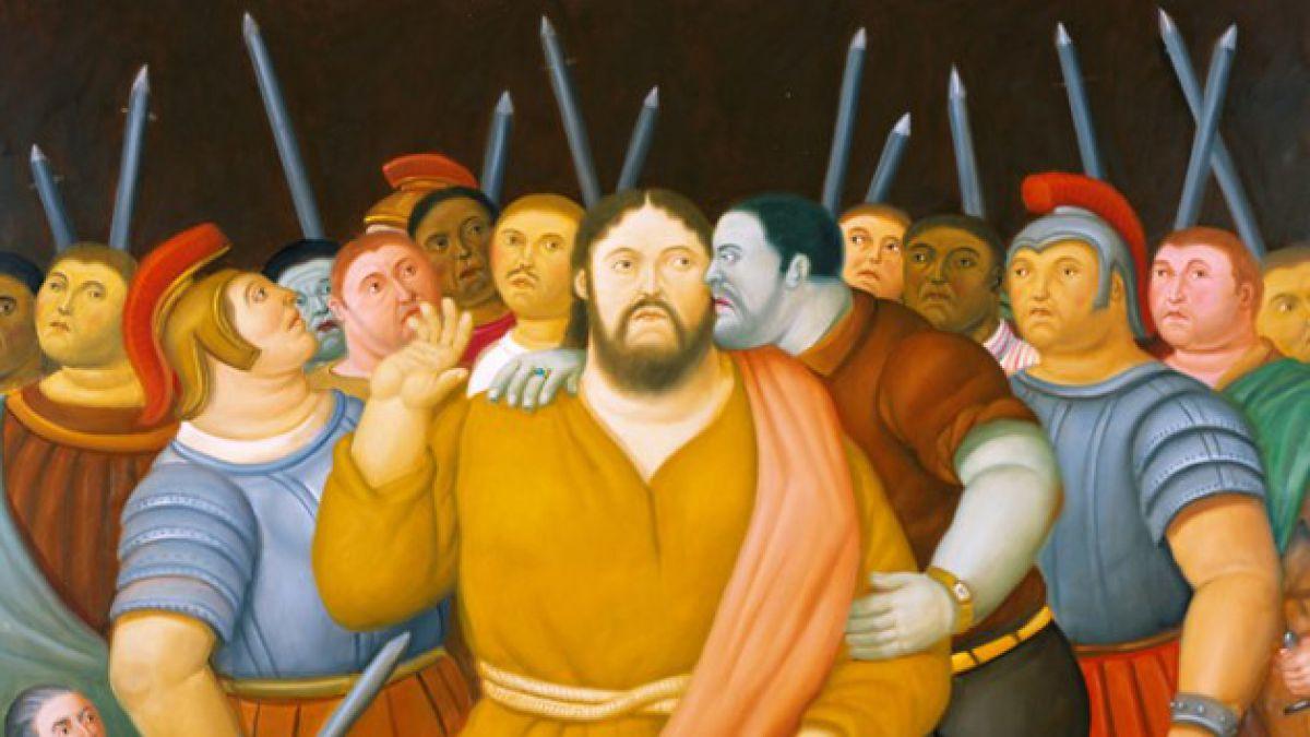Obras de Botero sobre la pasión y muerte de Cristo se presentarán en Chile