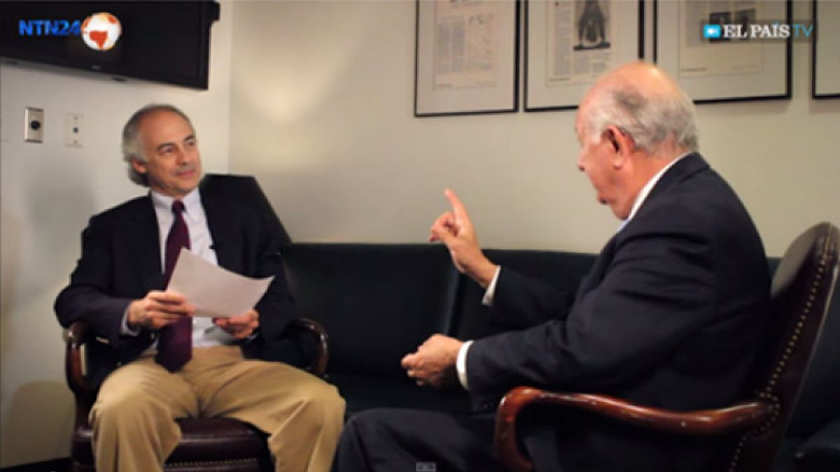 [VIDEO] Ex presidente Lagos habla con El País y analiza si Chile debe o no tener una nueva Constituc