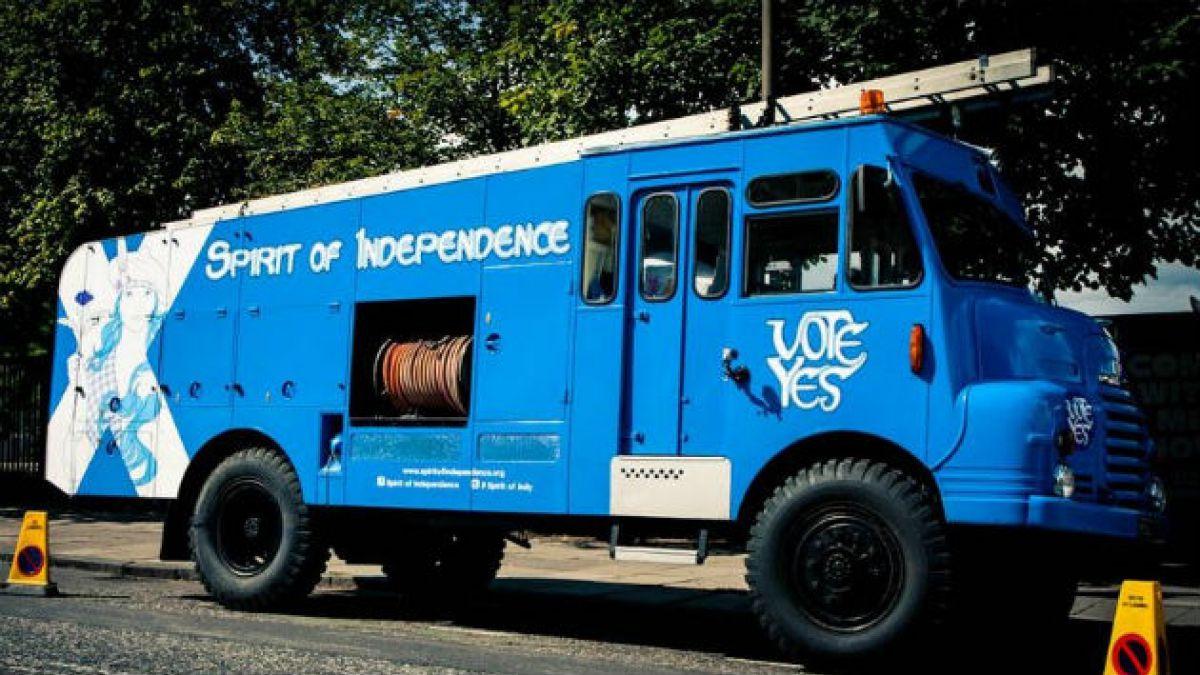 El referéndum de Escocia en fotos
