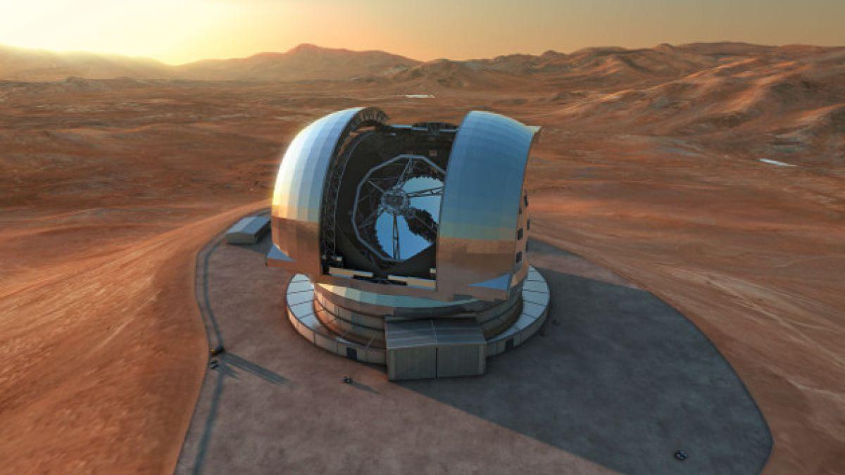 Cerro del norte de Chile es dinamitado para construir el telescopio más grande del mundo