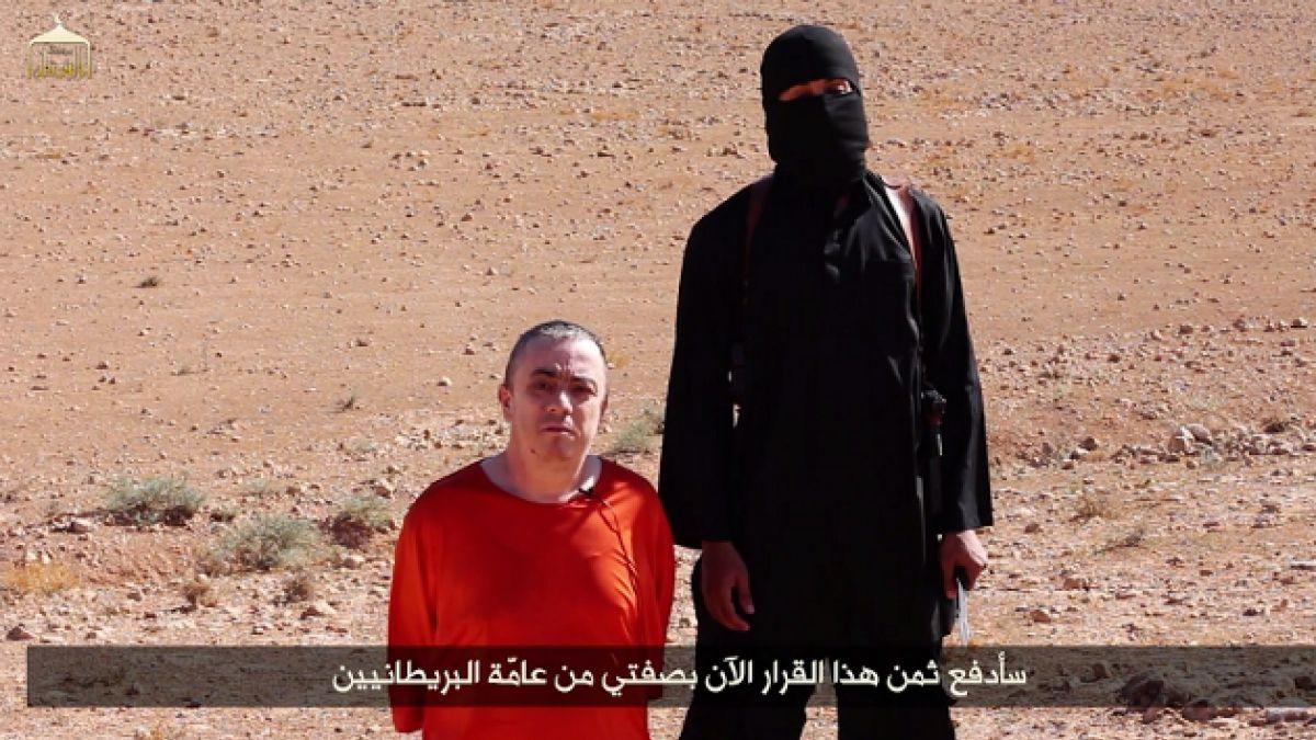 Estado Islámico amenaza ahora con decapitar a rehén estadounidense