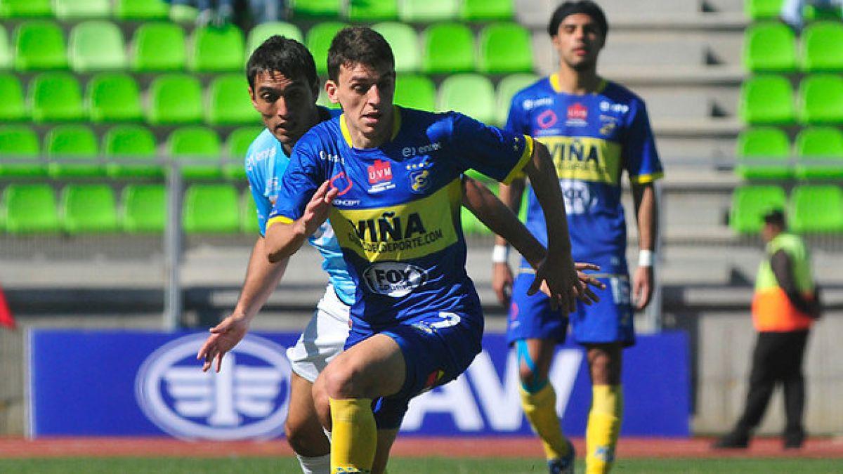 Everton debutó en la Primera B derrotando 2-0 a Coquimbo en Valparaíso