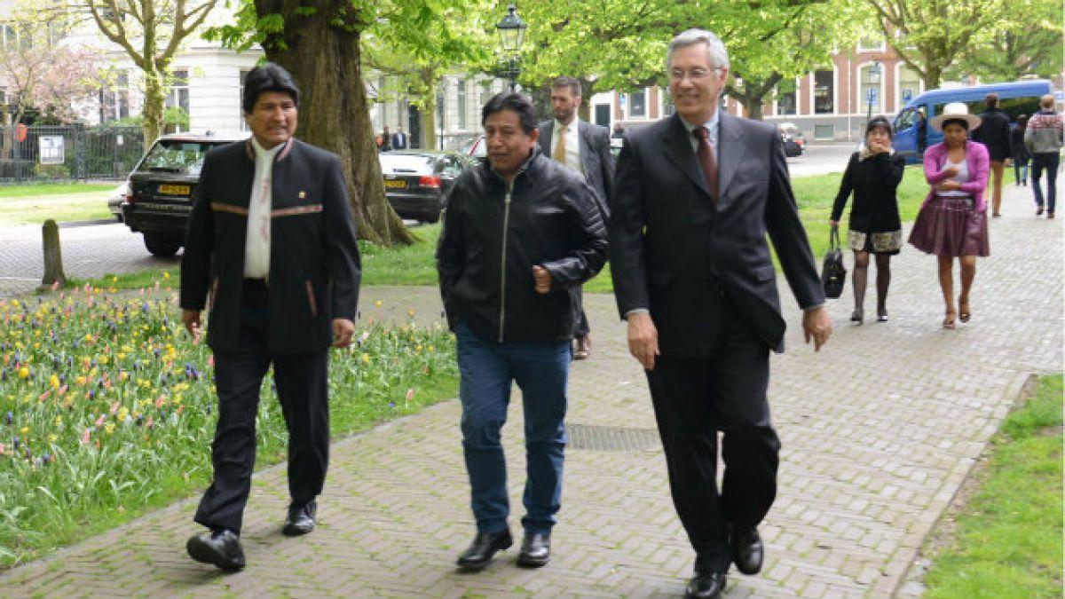 Evo Morales y La Haya: El pueblo boliviano está pendiente que se repare el daño histórico