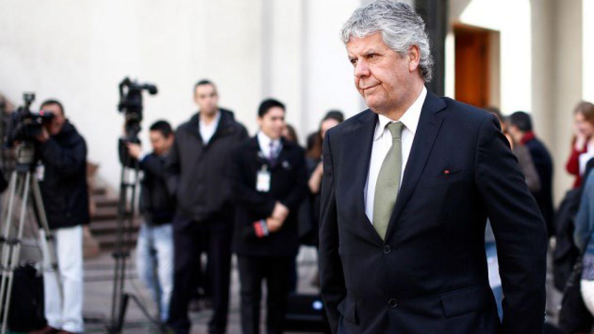 Adimark: Eyzaguirre registra menor aprobación del gabinete y ha bajado 30 puntos desde marzo