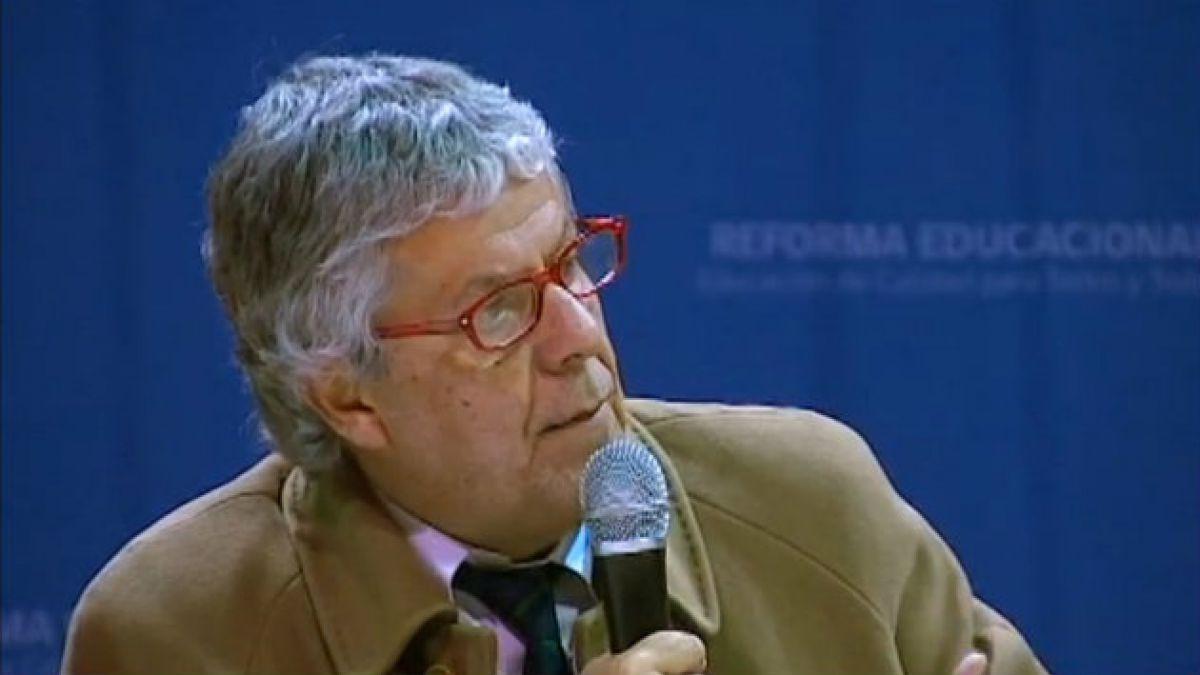 """Ministro Eyzaguirre: """"Lo aparecido en El Mercurio es fiel a mis dichos, no he sostenido lo contrario"""