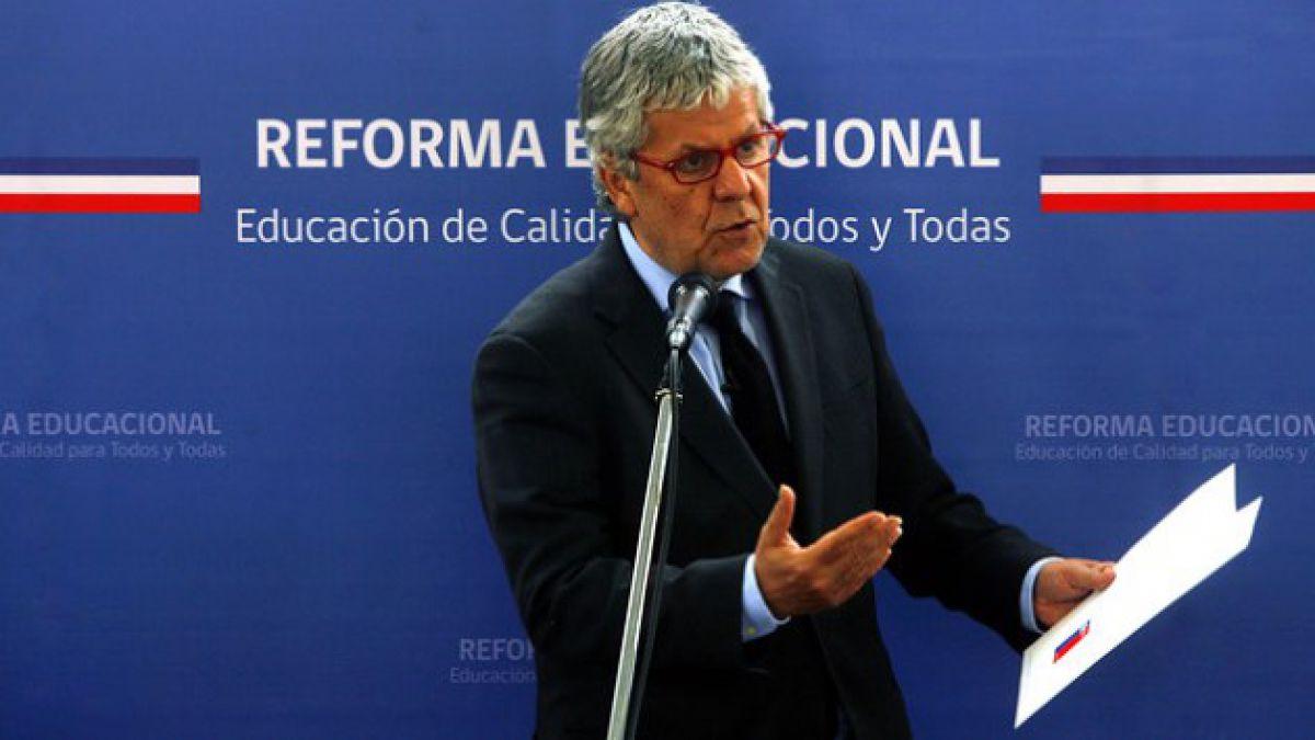 Alianza cuestiona reforma educacional y acusa desorden y desconocimiento de Eyzaguirre