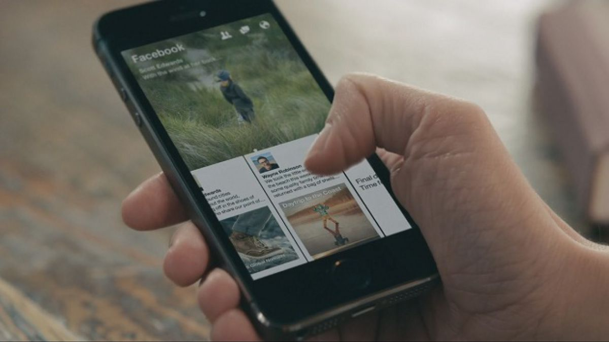 Facebook lanza aplicación para leer noticias desde un Iphone o Ipad