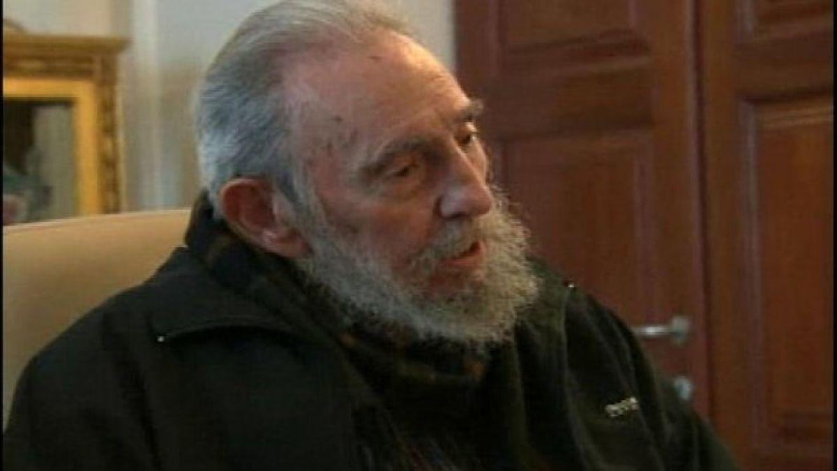 """Estados Unidos califica como """"señal positiva"""" declaraciones de Fidel Castro"""
