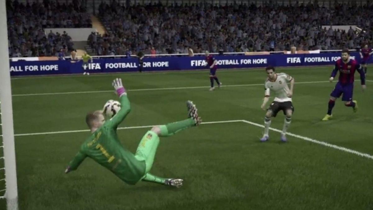 [VIDEO] FIFA 15 estrena avance con las mejoras de los arqueros sin Claudio Bravo