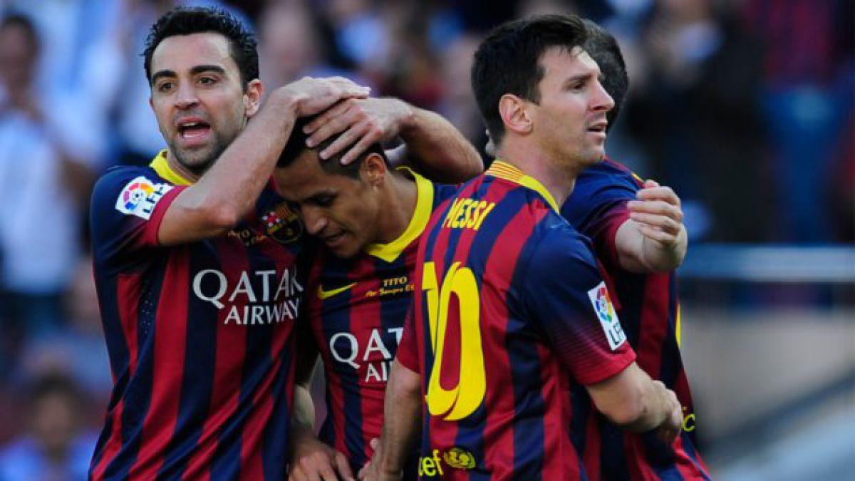 ¿Llegó el fin de la era Alexis en Barça?