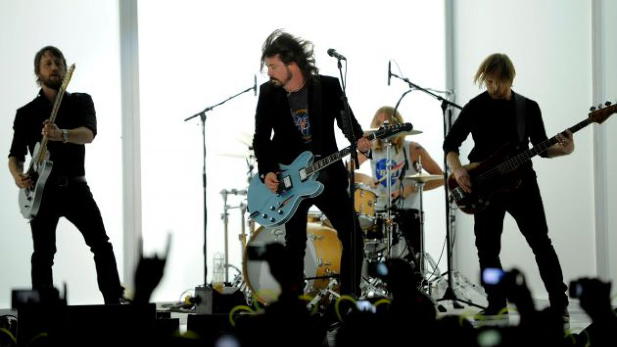 Foo Fighters se presentará en el Estadio Nacional