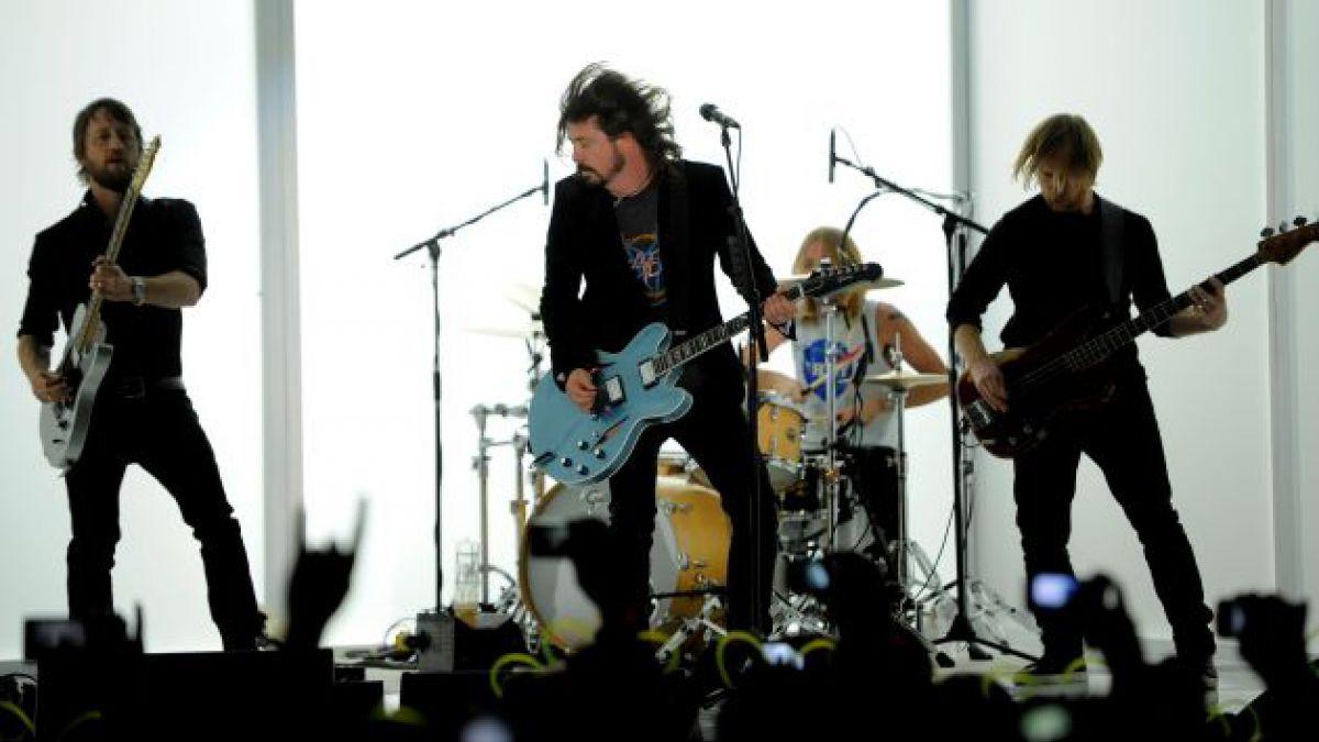 Foo Fighters se presentará en el Estadio Nacional