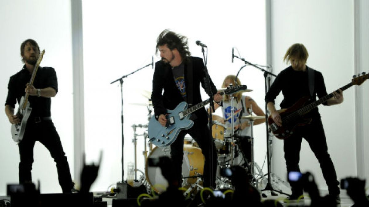 Foo Fighters fija concierto en Chile para enero de 2015
