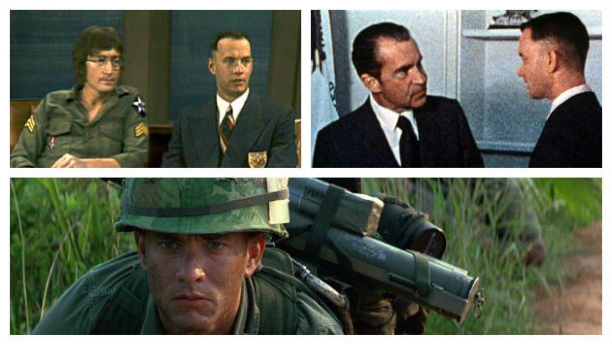 Las cinco referencias históricas que aparecen en Forrest Gump